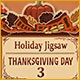 Holiday Jigsaw Thanksgiving Day 3 Game