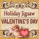 Holiday Jigsaw Valentine's Day Game