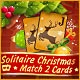 Solitaire Christmas Match 2 Cards Game