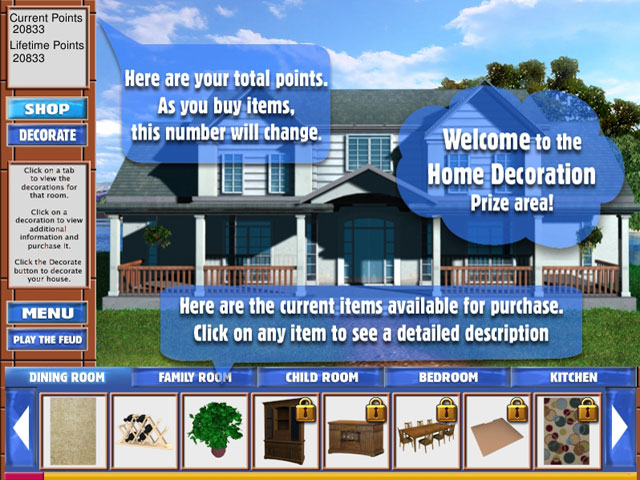 Family Feud Dream Home Game Download At HiddenObjectGames US