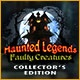 Haunted Legends: Faulty Creatures Collector's Edition Game