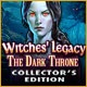 Witches' Legacy: The Dark Throne Collector's Edition Game
